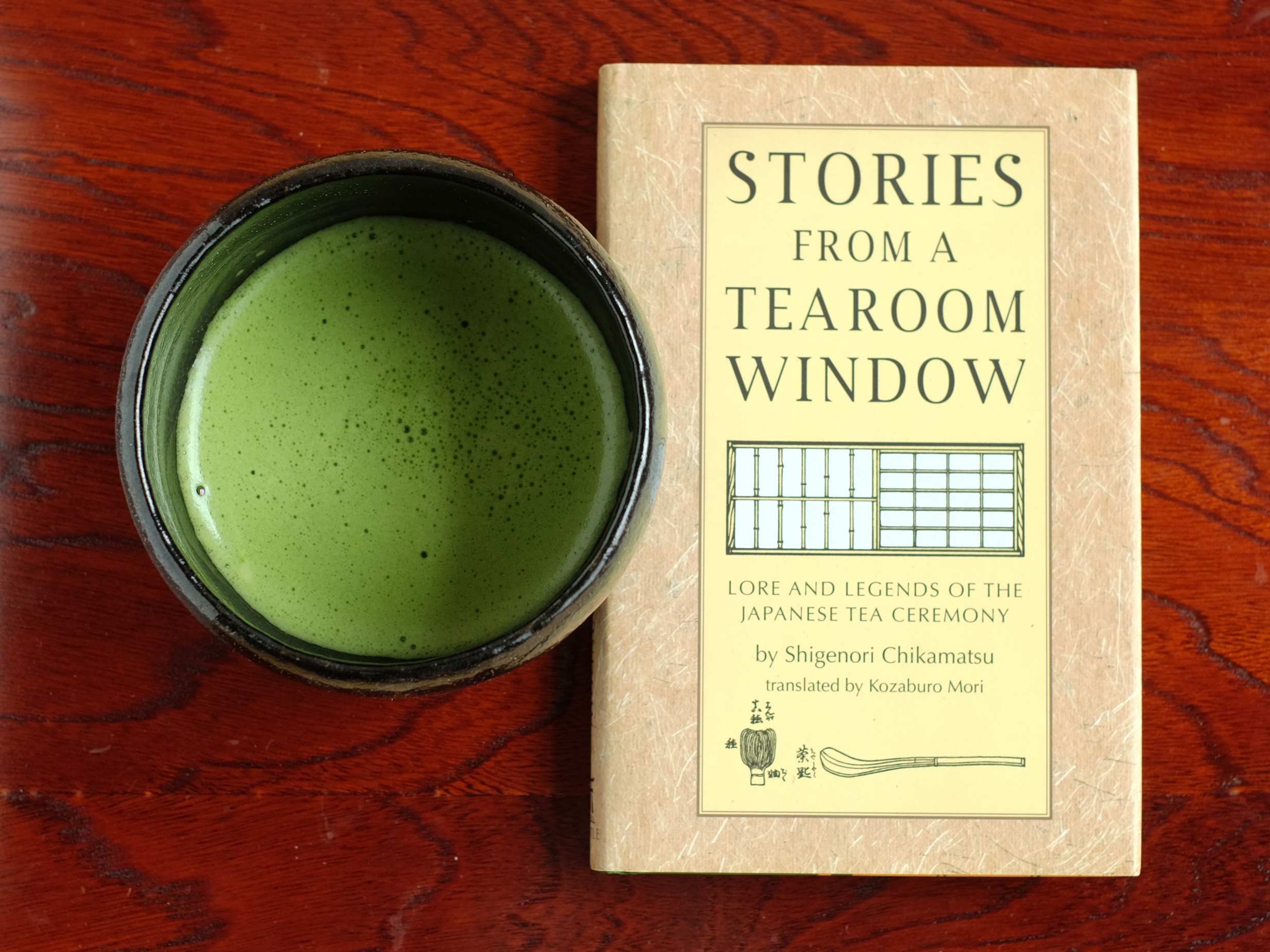 Stories from a tearoom window